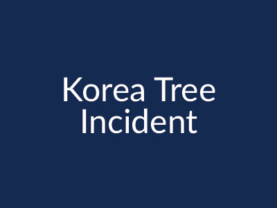 Korea Tree Incident